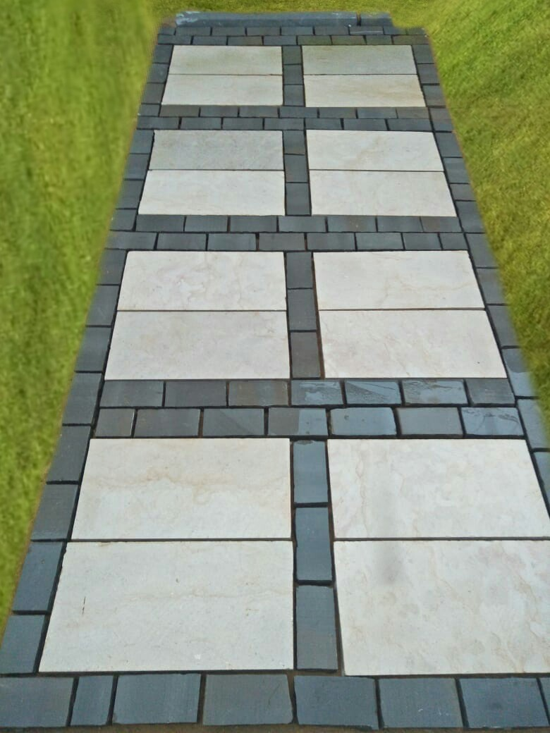Pavers Sampling At One Of Our Sites